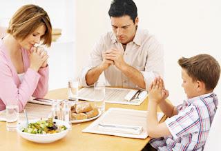 Doa Makan Kristen Singkat, Sebelum Makan
