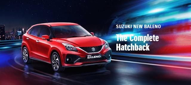 Daftar Lengkap Pajak Suzuki Baleno Terbaru Semua Tahun ( Update 2020 )