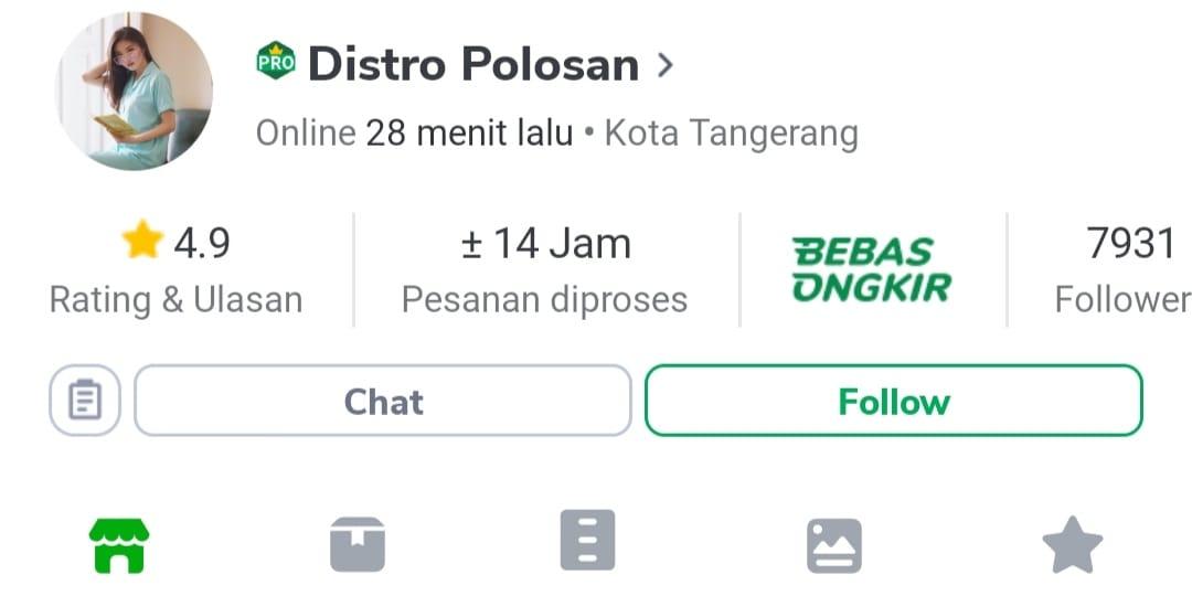 Distro Polosan - Toko Grosir Baju Murah