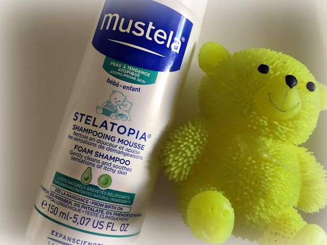 Mustela Stelatopia Foam Shampoo