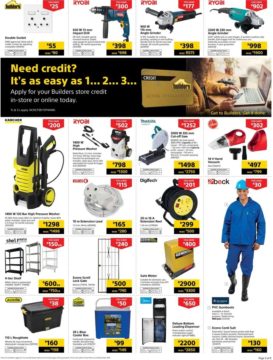 Builders Warehouse Black Friday Deals Page 3