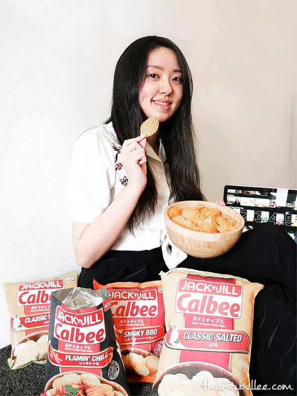 Snacking Experience at Home with JACK 'n JILL Calbee!