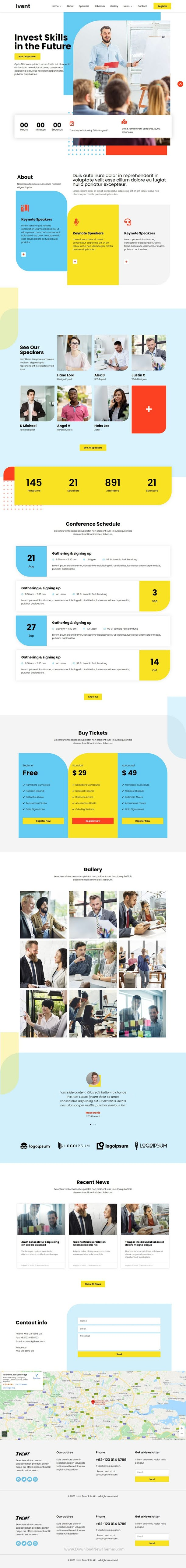 Event & Conference Template Kit
