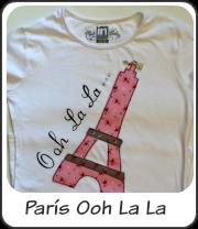 Camiseta París Ooh lala