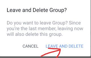 Facebook Group Delete kaise kare