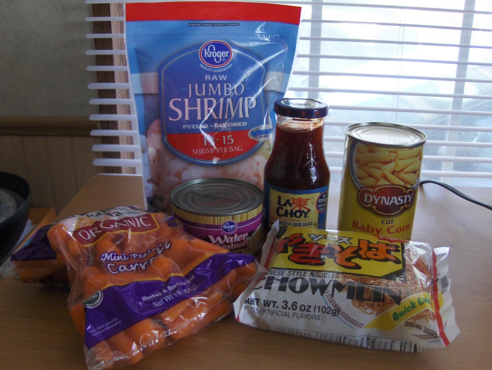diab2cook shrimp chow mein stir fry