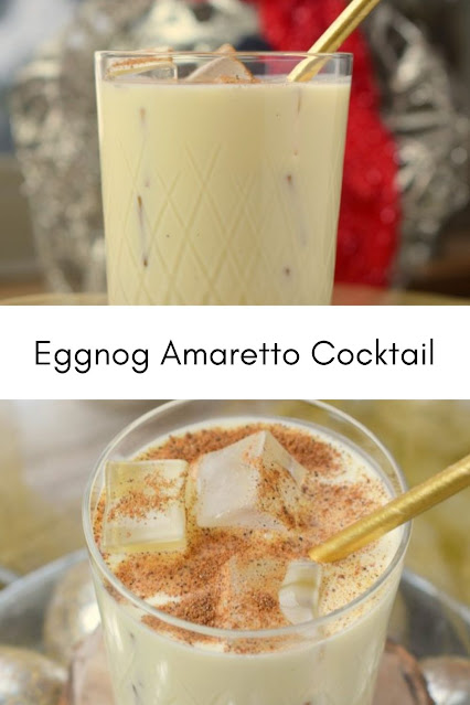 Eggnog Amaretto Cocktail