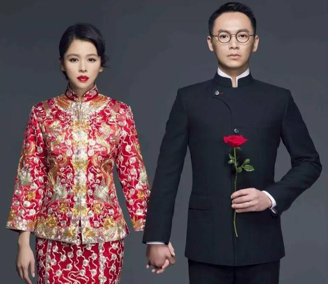 Vivian Hsu wedding qipao cheongsam