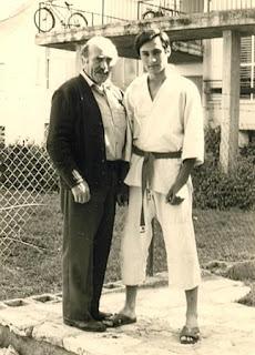Yaron Lichtenstein with Krav Maga Founder Imi Lichtenfeld