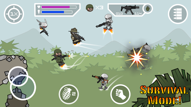 Doodle Army 2 : Mini Militia updated to v3.0.136 with new Store items, new Avatar, and more