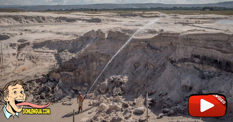 Maduro ha destruido el Parque Nacional Canaima por su ambición de oro