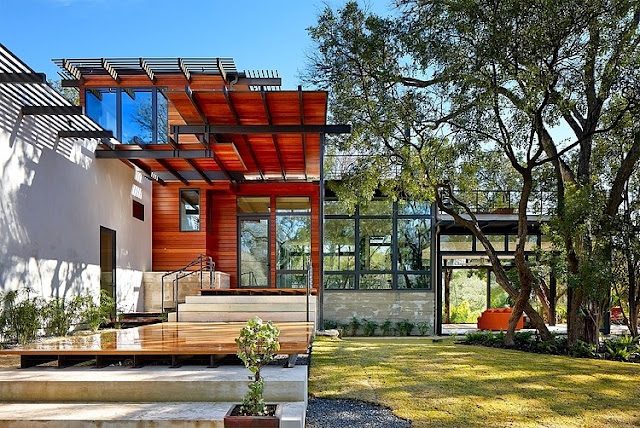 การออกแบบบ้านไม้โครงสร้างเหล็ก