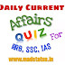 current affairs quiz in hindi RRB, SSC | Top 10 CA