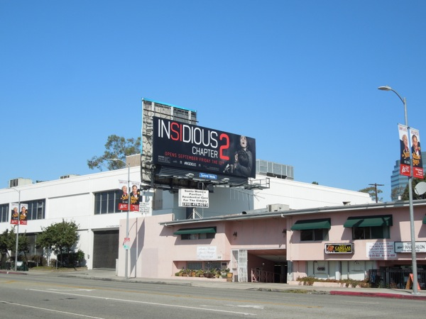Insidious Chapter 2 movie billboard