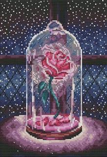 Cross-stitch «Роза» Надежда Григорьева (Mandarinks)