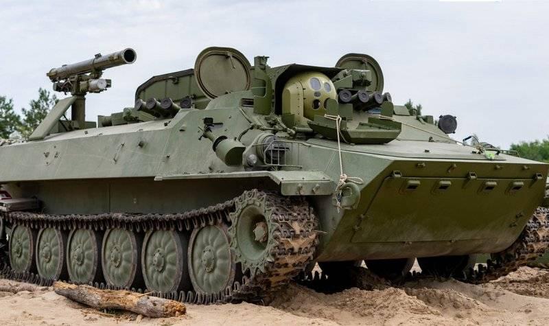 Модернізований СПТРК Штурм-С