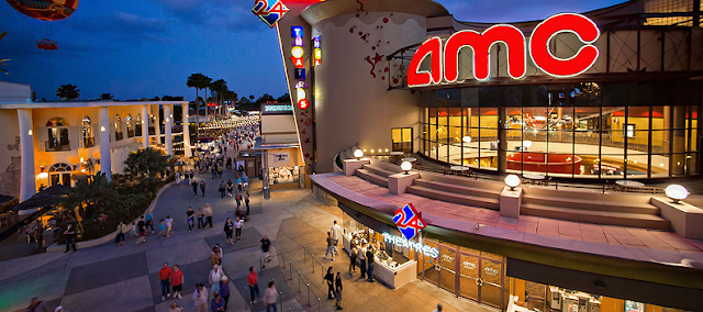 Cinema AMC na Disney Springs em Orlando