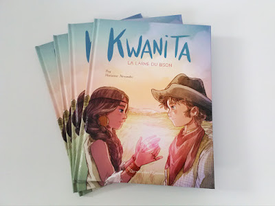 Kwanita - La larme du bison, de Pog et Marianne Alexandre - Voir les 5 photos (sur le blog)