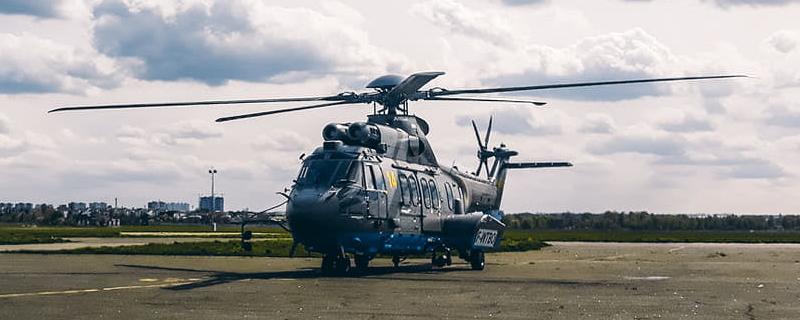 Нагвардія отримала третій гелікоптер Super Puma
