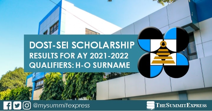 H-O Passers: 2021 DOST Scholarship Results