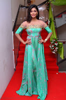 Anisha Ambrose sizzles in cute Green Anarkali Dress at Fashion TV F Club Saloon Launch ~  Exclusive 010.JPG