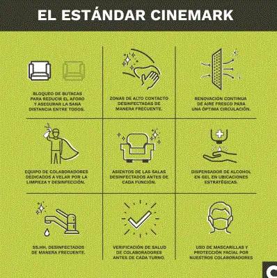 CINEMARK ESTANDAR COVID 19 EN PERÚ