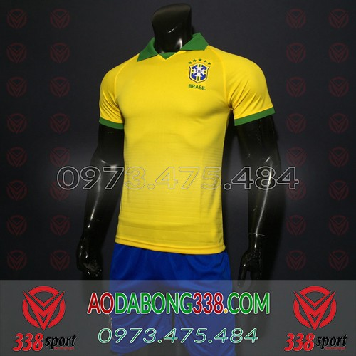 Áo Brazil Vàng 2019 2020 Sân Nhà