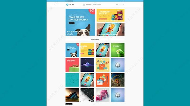 value blogger template