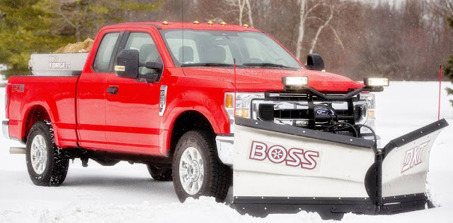 2020 Ford Super Duty Snow Plow Prep Package
