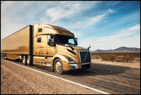 The new Volvo Trucks' Turbo Compound engine, the D13TC, is available in VNL Class 8 truck models
