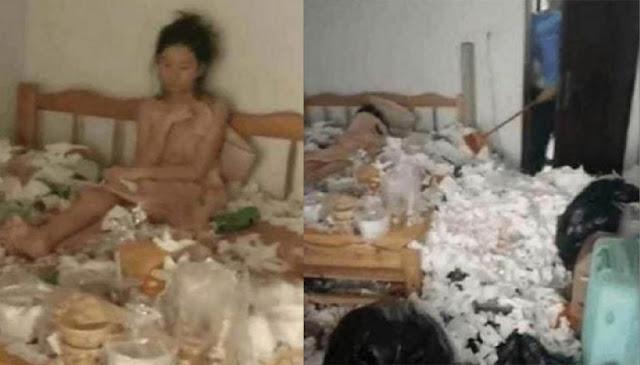 Tak mau keluar kamar selama 5 bulan lebih karena putus cinta, kondisi kamar wanita ini jadi sorotan