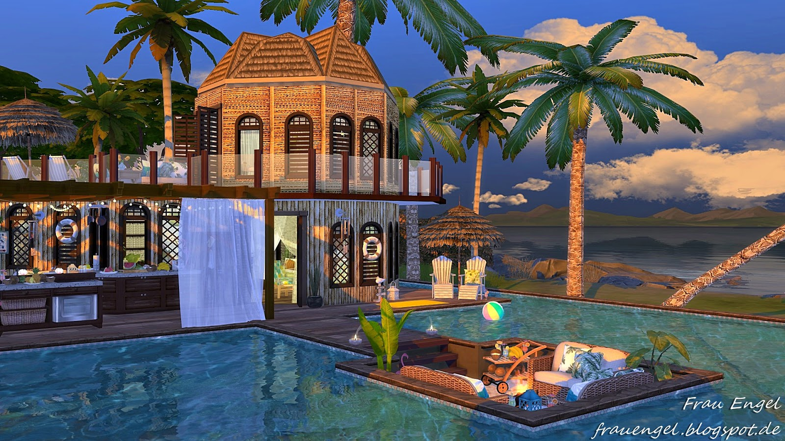 Frau Engel: TS4! Vacation Paradise