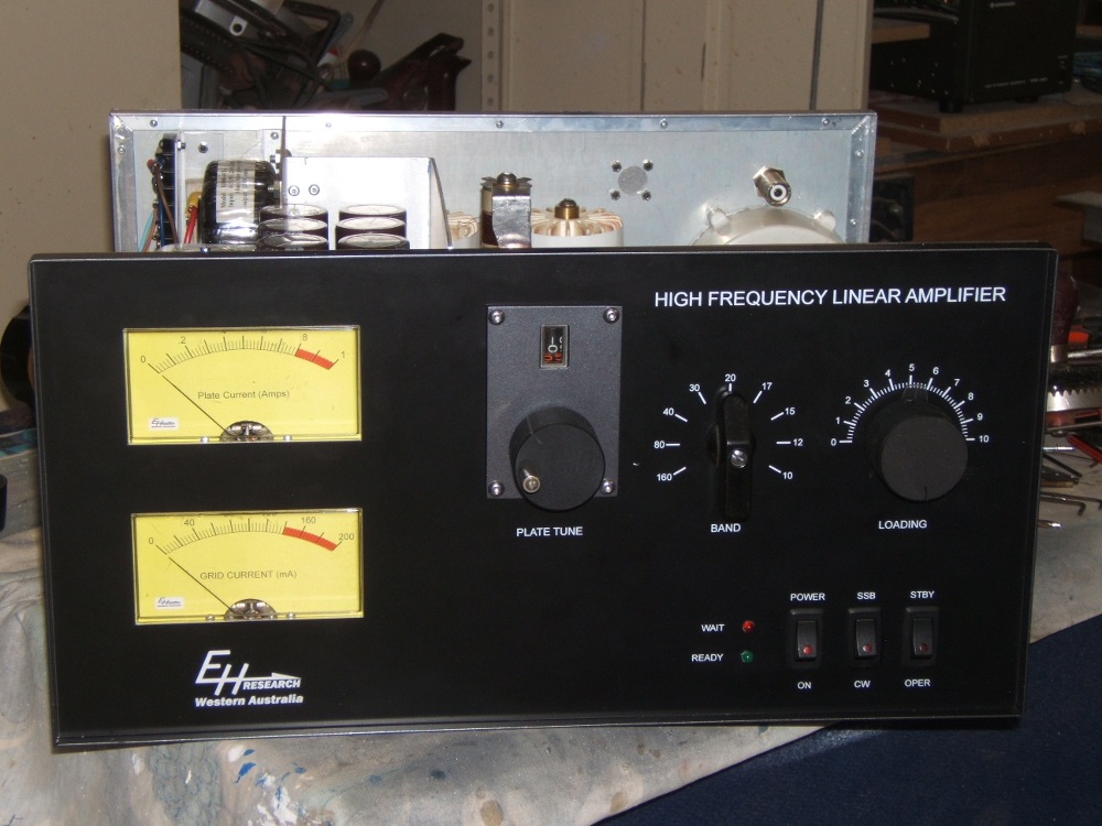 Homebrew hf Linear Amplifiers