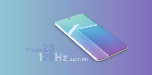 أبل قد تستخدم شاشات بمعدل تحديث 120Hz في هواتف الأيفون سنة 2020