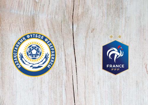 Kazakhstan vs France -Highlights 28 March 2021