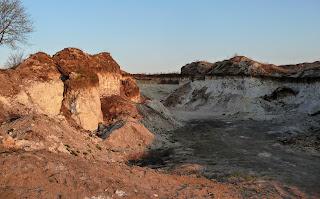 Река Сенная. Песчаные и глиняные карьеры