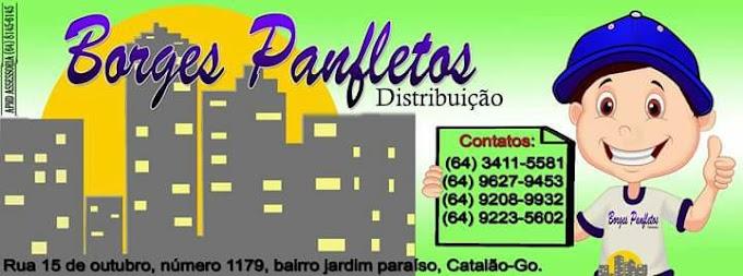 ★ BORGES PANFLETOS - Distribuição de panfletos em Catalão e Região.
