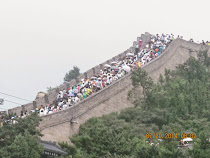 The Great Wall on a crowded summer Sunday (and school holiday), Badaling Section, outside Beijing