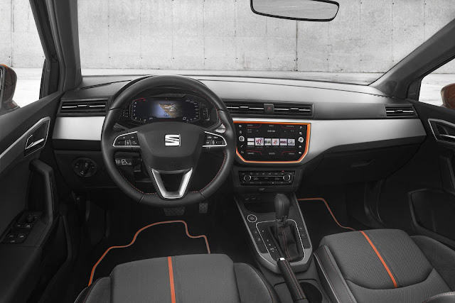 Seat Ibiza  Beats - interior - Active Info Display