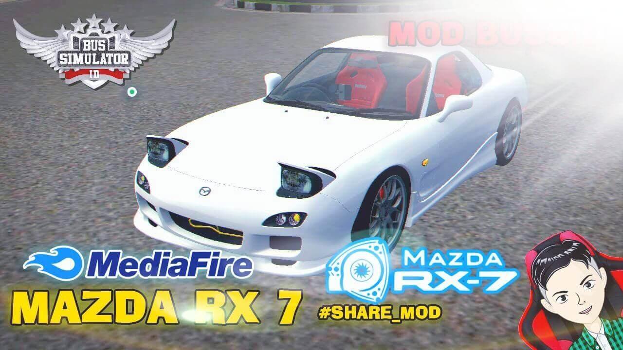Mod Bussid Mazda RX7 FD3S Car
