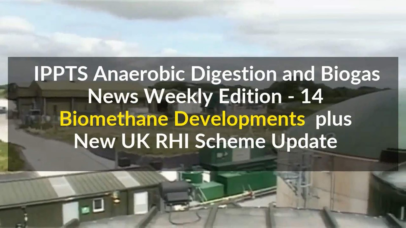 Anaerobic digestion news 2018 for Design of anaerobic pond