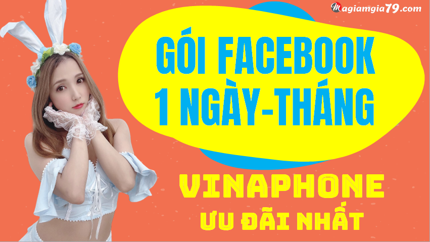 Gói facebook vinaphone 1 ngày, tháng ưu đãi nhất