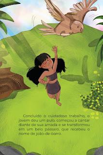 História João-de-Barro (Conta Pra Mim); Imprimir PDF Grátis