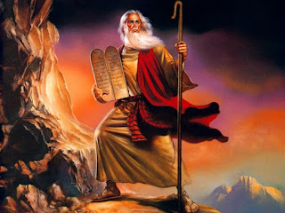 Mosè e il lungo viaggio degli Ebrei nel deserto