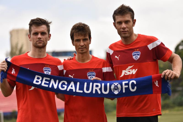Bengaluru FC add to armoury, sign Rubio, Gonzalez