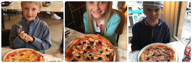 Pizza Express Piccolo menu