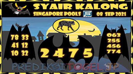 Syair Kalong Togel Singapura Rabu 08-Sep-2021