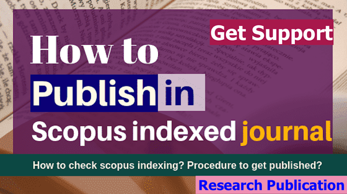 How to publish in Scopus indexed journal