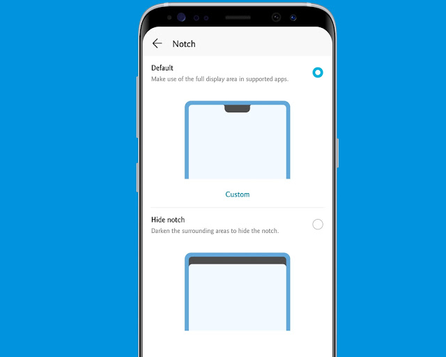 Remove The Notch - hidden android features