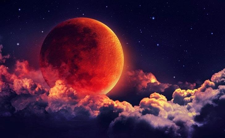 Awal Tahun 2019 Akan Terjadi Gerhana Bulan Darah Serigala